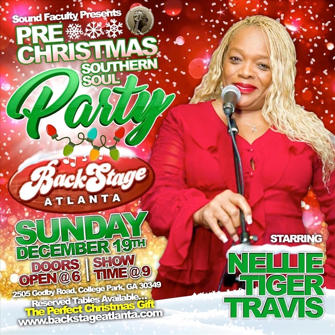 Pre-Christmas Southern Soul Party Starring Nellie Tiger Travis