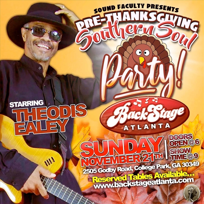 Pre-Thanksgiving Southern Soul Party Starring Theodis Ealey