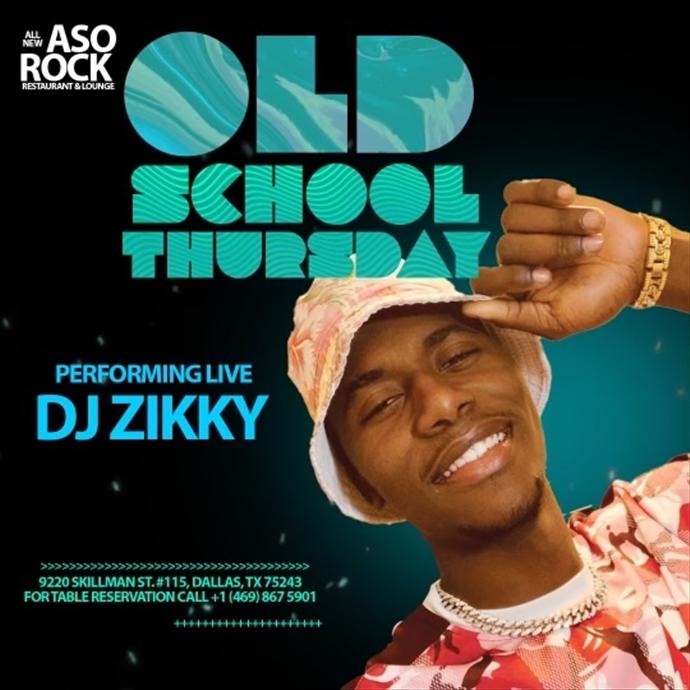 Old School Thursday