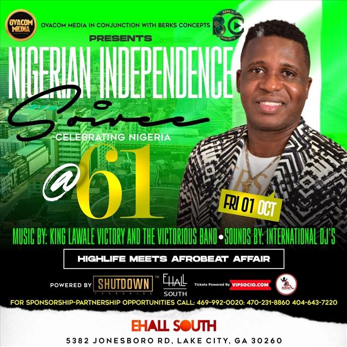 OFFICIAL NIGERIAN @61 INDEPENDENCE CELEBRATION, ATLANTA