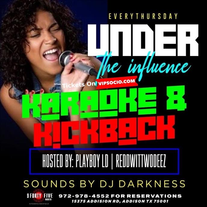 Karaoke & Kickback Thursday
