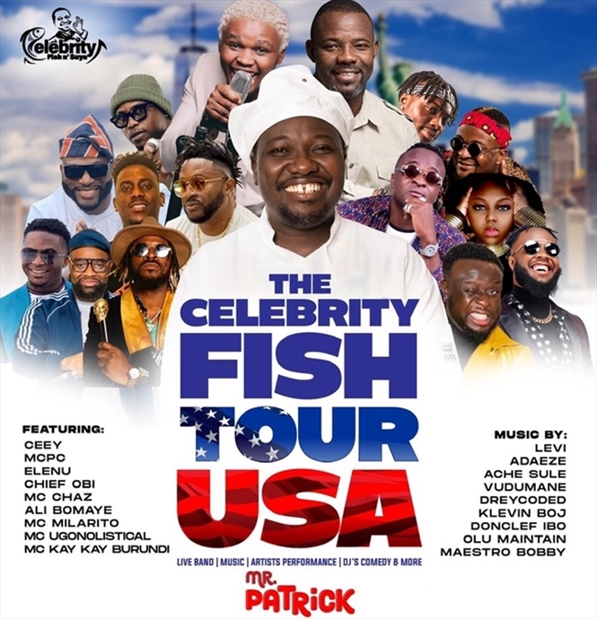 The Celebrity Fish Tour USA with Mr Patrick (Chicago)