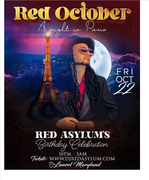Red October A Night In Paris