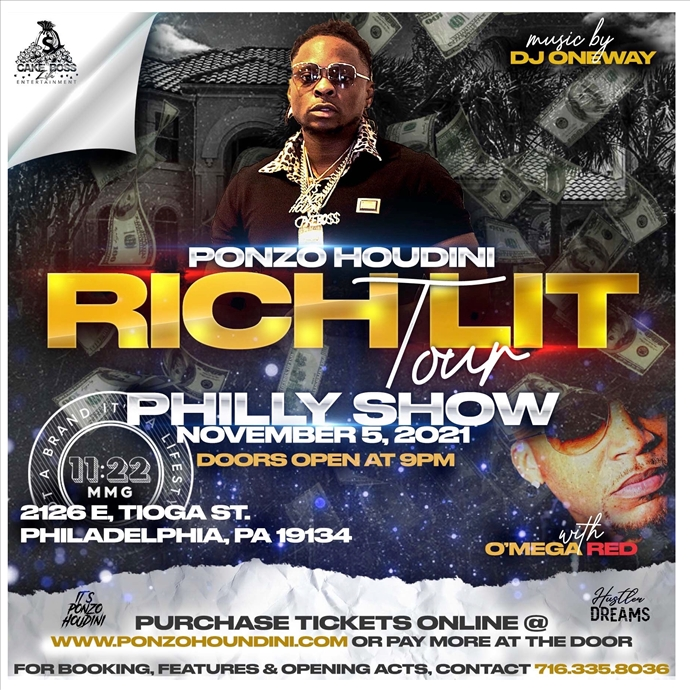 RICH LIT TOUR - Philly