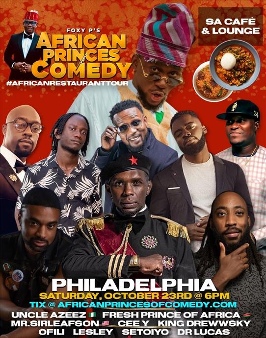 African Princes of Comedy Tour (Philadelphia)