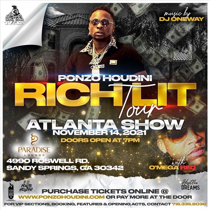 RICH LIT TOUR - Atlanta