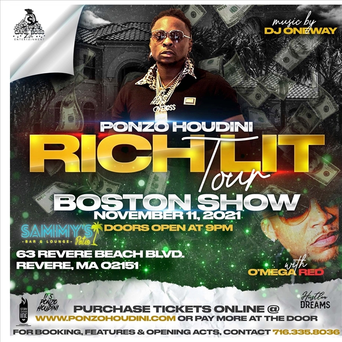 RICH LIT TOUR - Boston