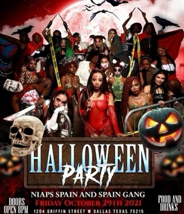 Niaps Spain & Spain Gang Halloween party
