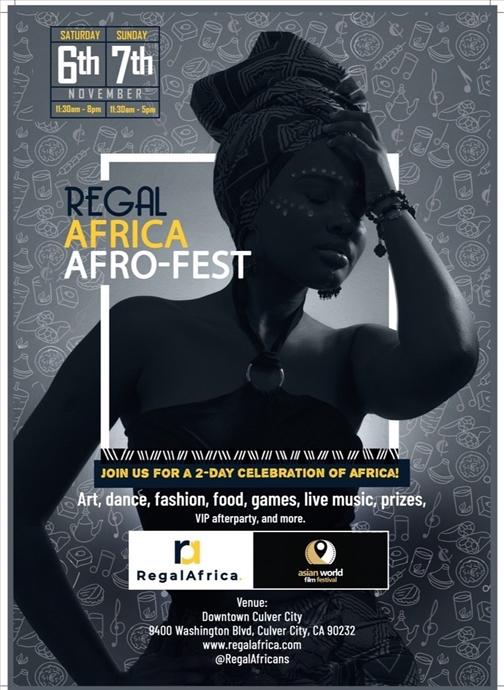 REGAL AFRICA AFRO-FEST